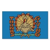Thanksgiving Rectangle Sticker