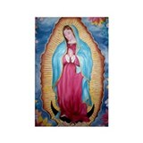 Our Lady of Guadalupe Rectangle Magnet (10 pack)