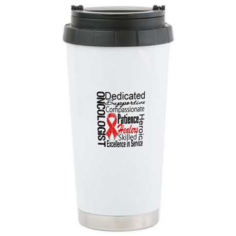 Blood Cancer Oncologist Ceramic Travel Mug