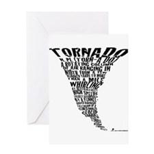 The Best Storm Chaser Ever in Greeting Card