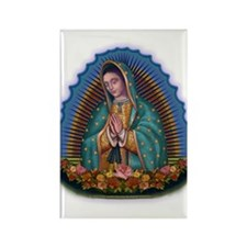 Lady of Guadalupe T1 Rectangle Magnet (10 pack)