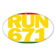 RUN 671 GUAM REGGEA Island Kings tee Decal