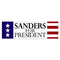 Sanders for President Bumper Sticker