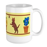 Spring has sprung! Cat Mug