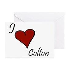 I love Colton Greeting Cards (Pk of 20)