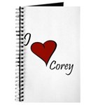 I love Corey Journal