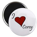 I love Corey Magnet