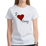 I love Corey Women's T-Shirt