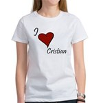 I love Cristian Women's T-Shirt