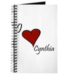 I love Cynthia Journal