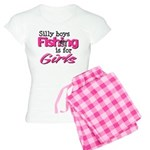 Silly boys, fishing is for girls! Women's Light Pa