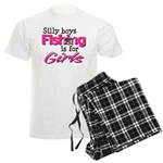 Silly boys, fishing is for girls! Men's Light Paja