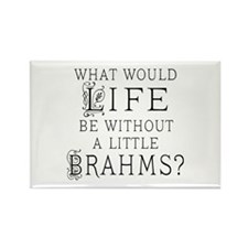 Brahms Quote Rectangle Magnet