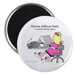 Home Office Perk (2.25&amp;quot; Magnet (10 pack)