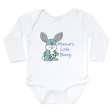 Mormor's Little Bunny Long Sleeve Infant Bodysuit