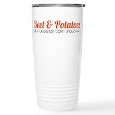 Beet & Potatoes Stainless Steel Travel Mug