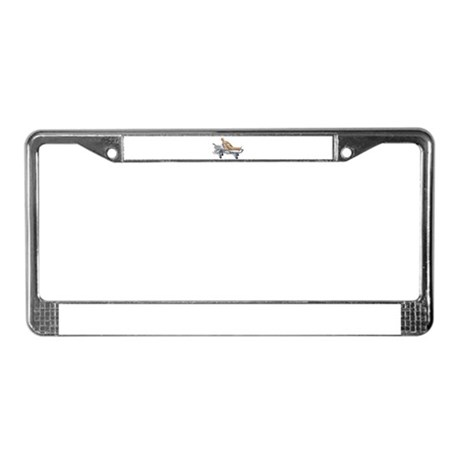 Patient Gurney License Plate Frame