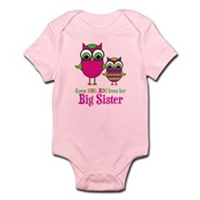 Guess Hoo Loves Big Sister Onesie