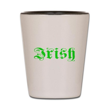 Irish Shot Glass