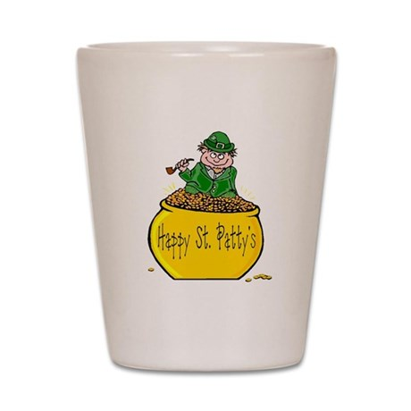 Pot of Gold Shot Glass