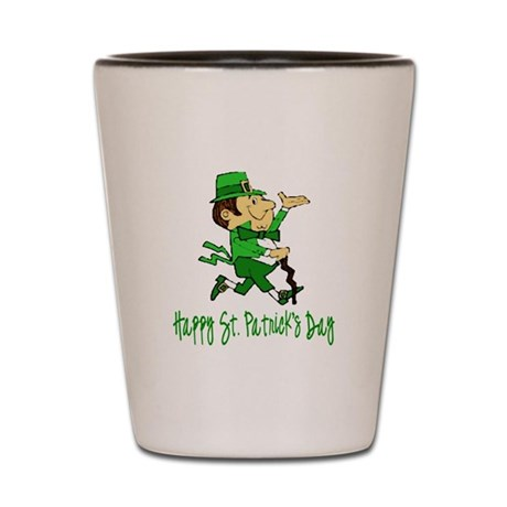 Leprechaun Dandy Shot Glass