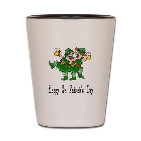 Leprechaun Dance Shot Glass