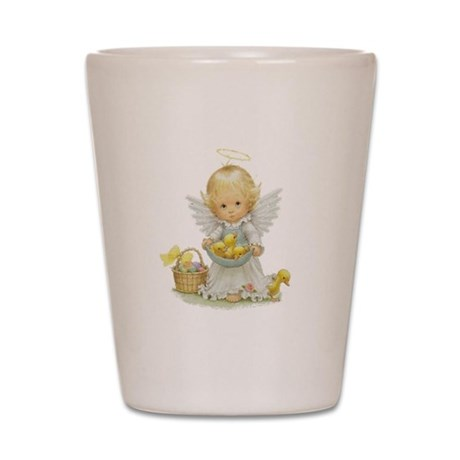 Easter Angel Shot Glass