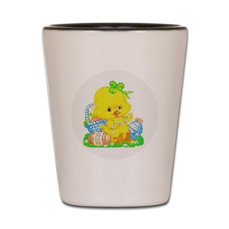 Easter Duckling Shot Glass