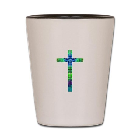 Cross 013 Shot Glass