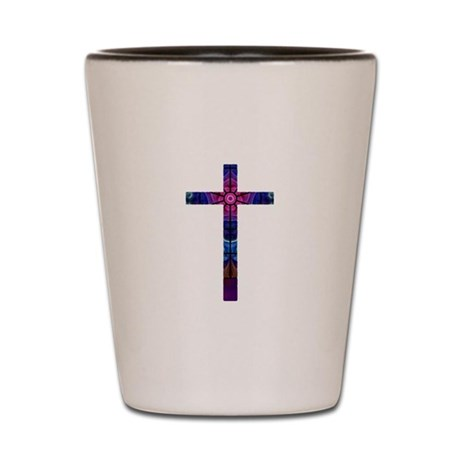 Cross 012 Shot Glass