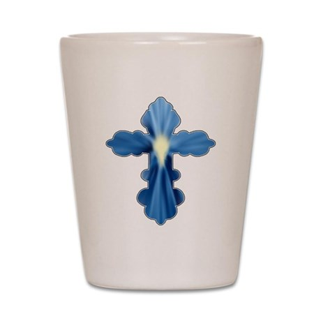 Holy Spirit Cross Shot Glass