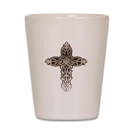 Victorian Cross Shot Glass