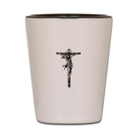 Calvary Shot Glass
