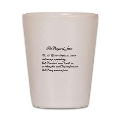 The Prayer of Jabez Shot Glass