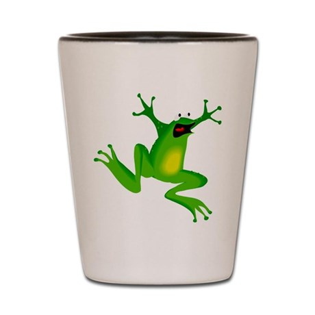 Feeling Froggy Shot Glass