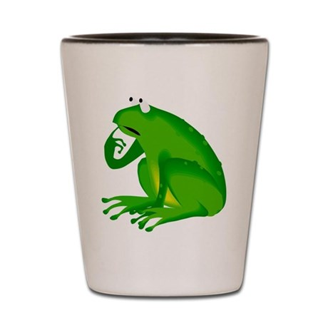 Frog Shot Glass