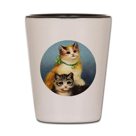 Cute Kittens Shot Glass