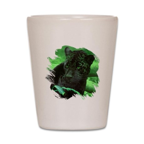 Black Jaguar Shot Glass