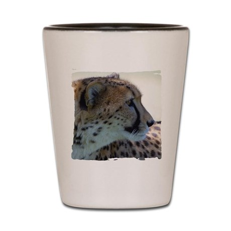 Cheeta Shot Glass