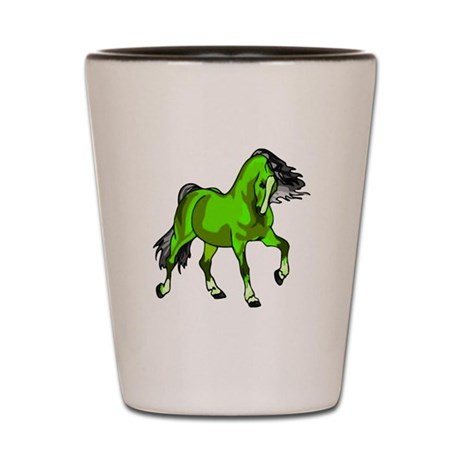 Fantasy Horse Lime Shot Glass