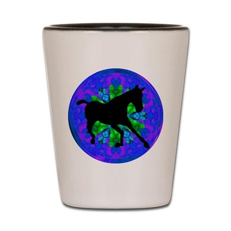 Kaleidoscope Colt Shot Glass
