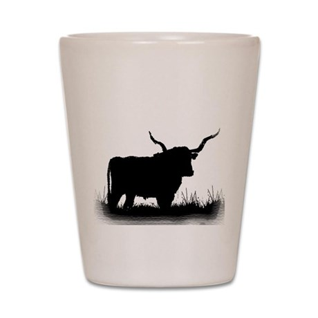 Longhorn Shot Glass