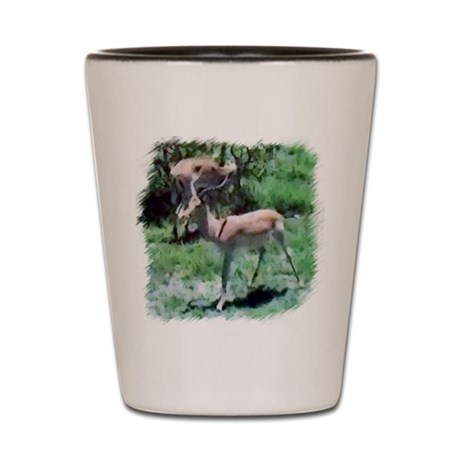 Gazelle Shot Glass