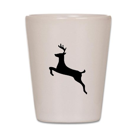 Leaping Deer Shot Glass