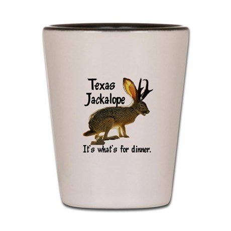 Texas Jackalope Shot Glass