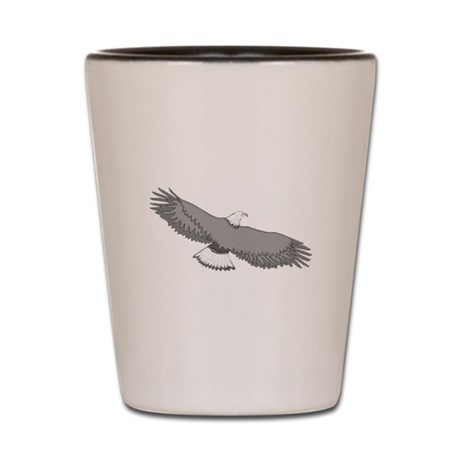 Bald Eagle Shot Glass