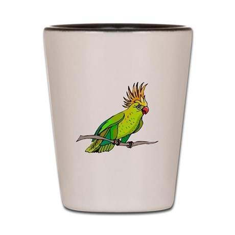 Cockatoo Shot Glass