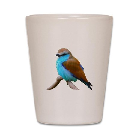 Bluebird Shot Glass