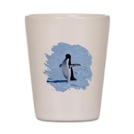Penguin Shot Glass