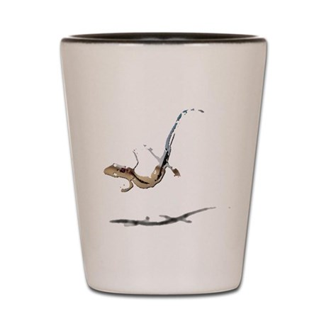 Gecko Shot Glass